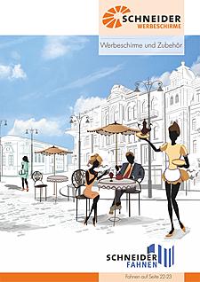 Werbeschirme Katalog 2016
