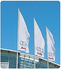 Hissfahnen Audi