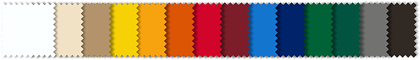 Farben Werbeschirme ab 2016 ohne Farbbezeichnung